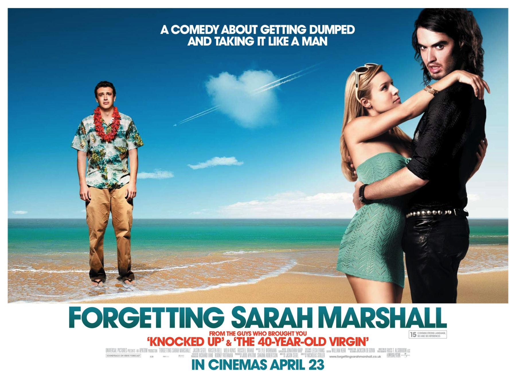 Image result for Forgetting Sarah Marshall (2008)